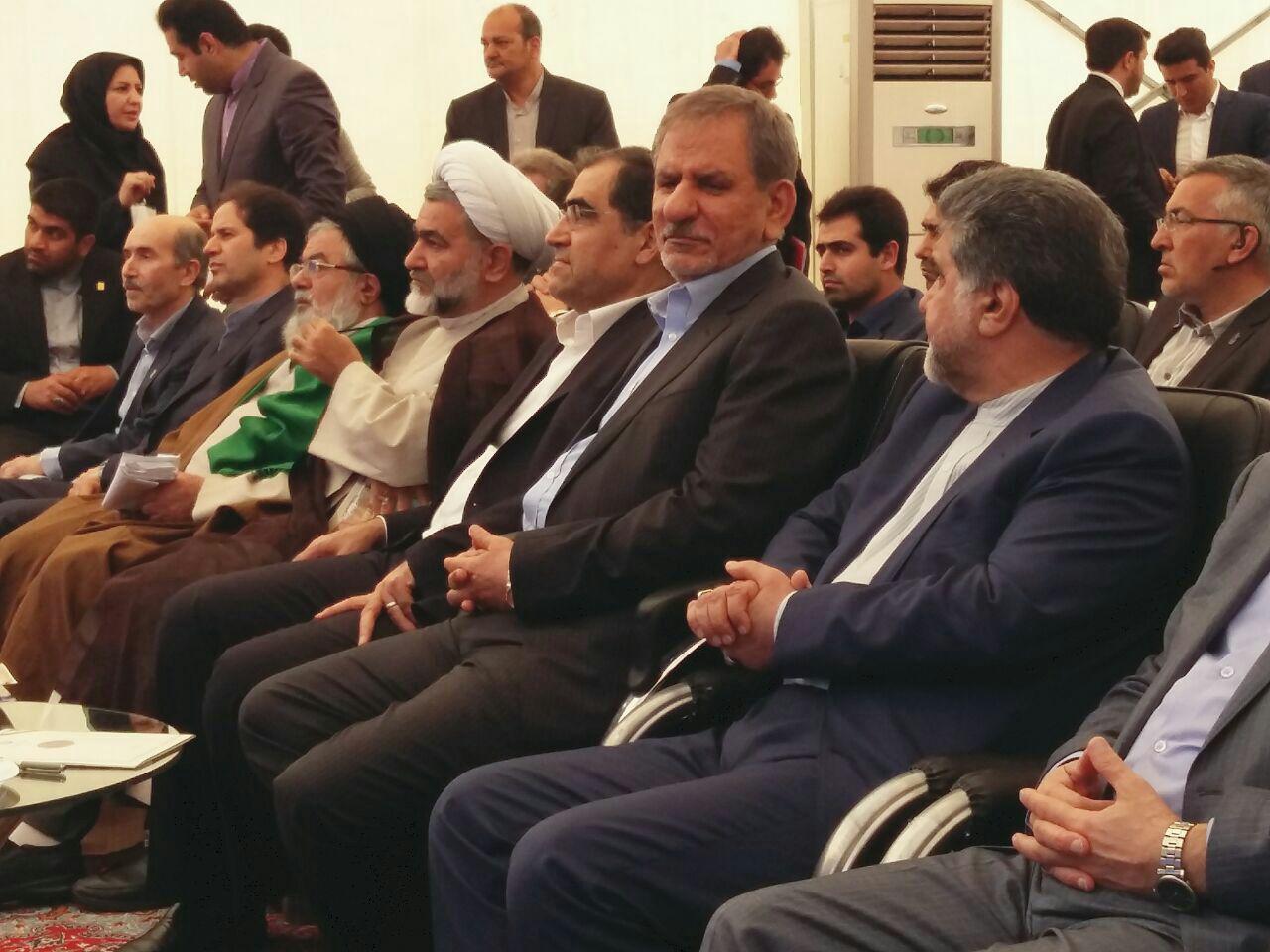 افتتاح بیمارستان در بهاستان