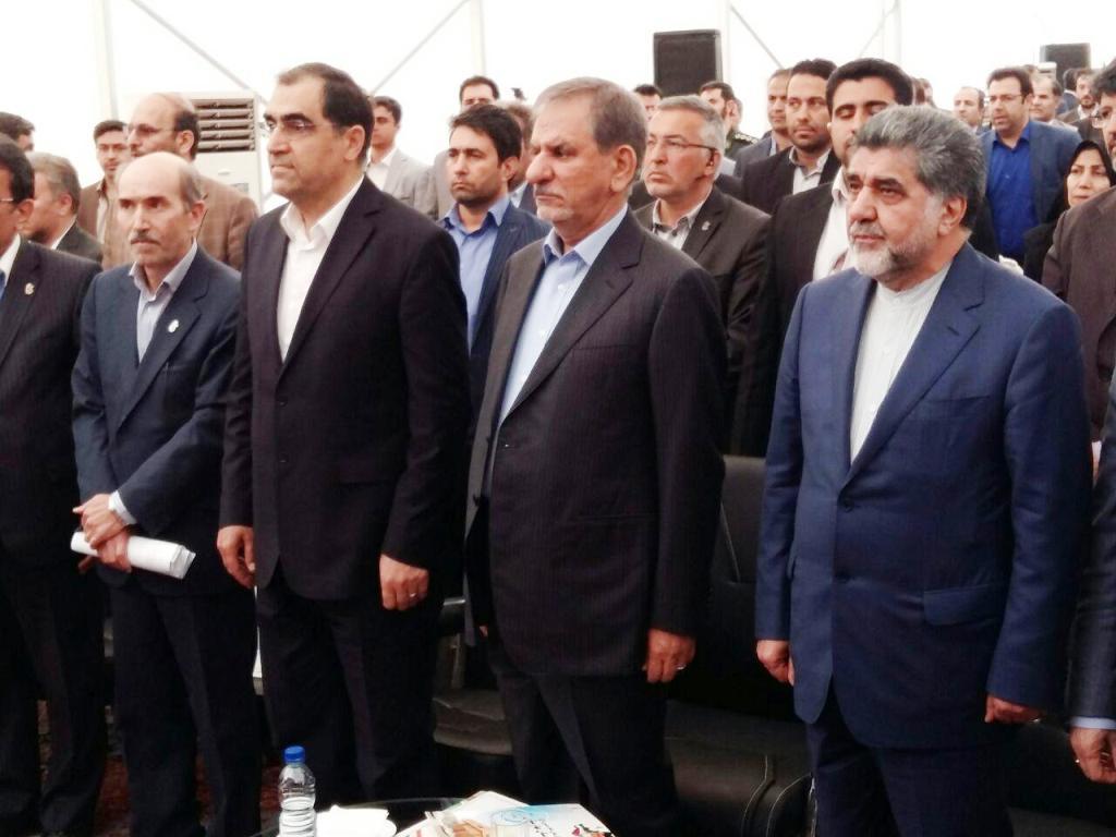 افتتاح بیمارستان در شهرستان بهارستان