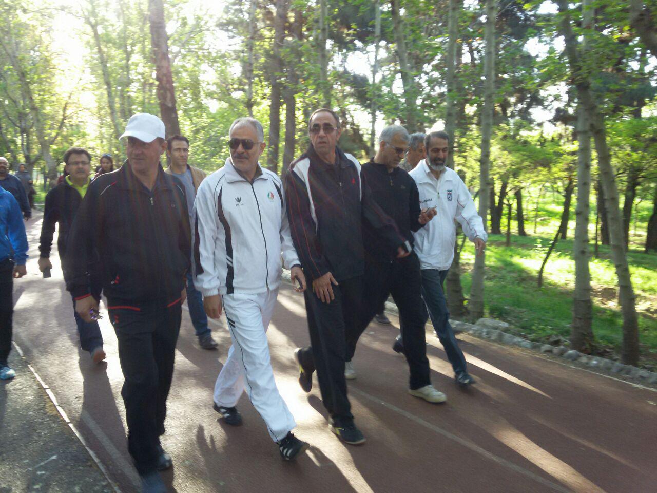 همایش پیاده روی تهران