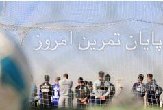 نظارت ویژه منصوریان بر تاکتیک های انتقال توپ+عکس
