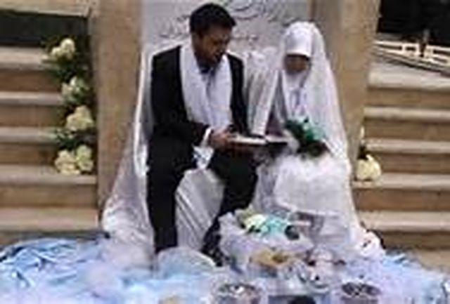 جشن ازدواج زوج دانشجو در حرم امام زاده سید عباس برگزار میشود
