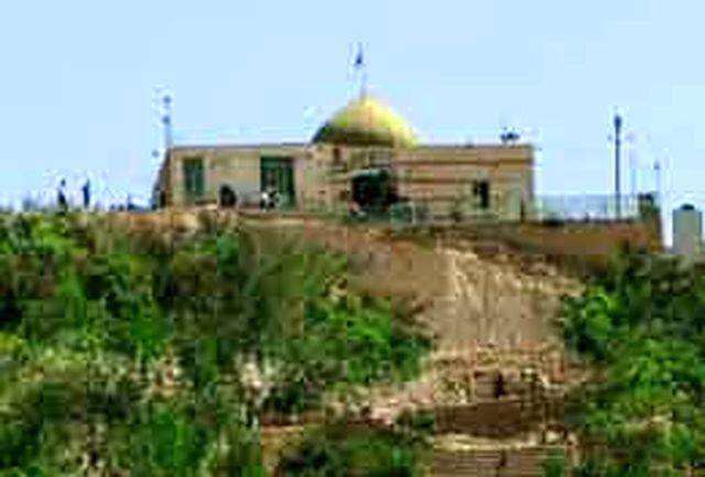 شهری از چادر مسافران در امامزاده حمـزه علی (ع) بلداجی