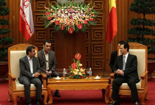ایران همواره همراه و در كنار مردم ویتنام خواهد بود