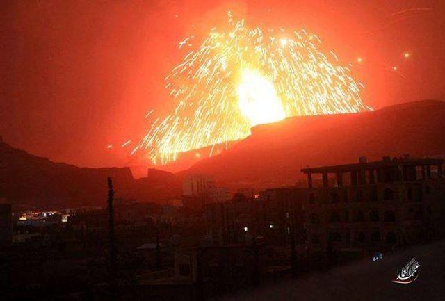 حملات گسترده یمنیها به مناطقی از عربستان