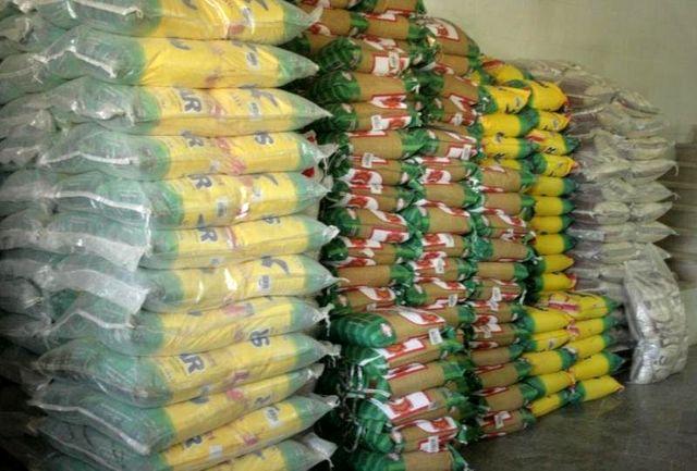 توقیف  ۲۴هزار کیلوگرم برنج قاچاق