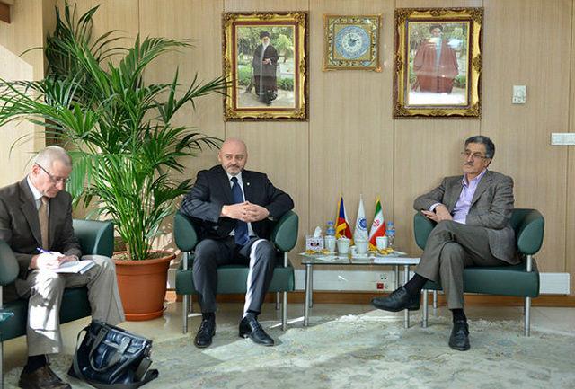 سفیر چک با رییس اتاق بازرگانی تهران دیدار کرد