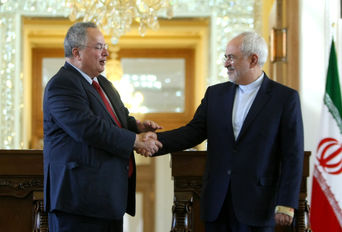 دیدار وزرای امور خارجه ایران و یونان