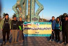 ورزشکاران تربت جامی  به عشق امام رضا (ع) دویدند