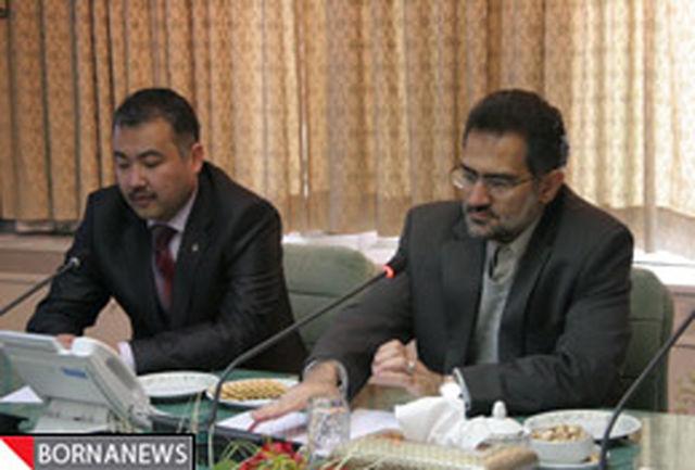 فرهنگ و هنر زبان مشترک ایران و قرقیزستان باشد