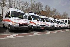 ترخیص ۵۰ دستگاه آمبولانس نو از گمرک بازرگان