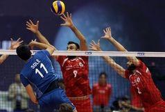 سلفی جالب منصوریان با ملیپوشان والیبال+عکس