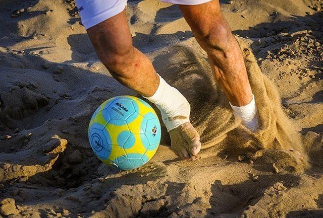 پایان مرحله اول لیگ برتر فوتبال ساحلی