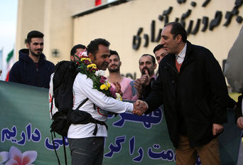مراسم استقبال از  کامران هاشمی در حمایت از کودکان کار
