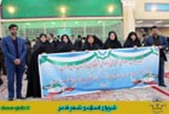 اعضای شورای اسلامی شهر و مدیران مناطق شهرداری قدس با آرمانهای والای امام(ره) تجدید میثاق کردند