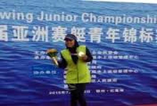دعوت قایقران همدانی به اردوی تیم ملی روئینگ بانوان