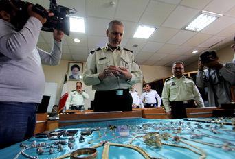 نشست خبری تشریح اقدامات پلیس فارس