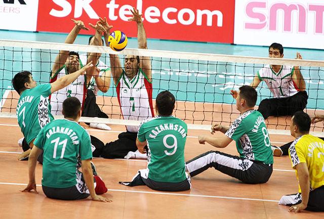 تیم های ملی والیبال نشسته ایران عازم چین شدند