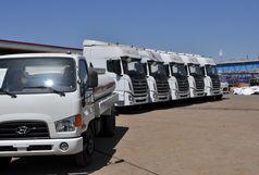 صادرات اولین محموله  تولید خودروهای نیمه سنگین در منطقه ویژه اقتصادی سلفچگان به کشور عراق