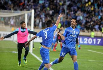 دیدار تیم های استقلال ایران و الاهلی امارات
