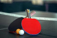 آغاز اردوی بخش دوم تیم ملی تنیس روی میز در مازندران