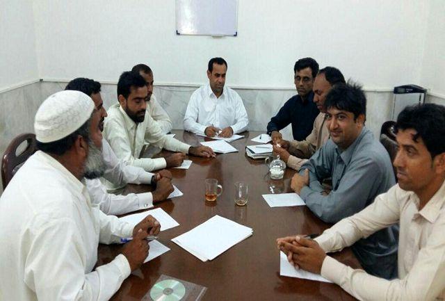 برگزاری جلسه  هماهنگی و برنامه ریزی مسابقات روستایی چابهار