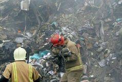 محل دفن شهدای آتش نشانی مشخص شد