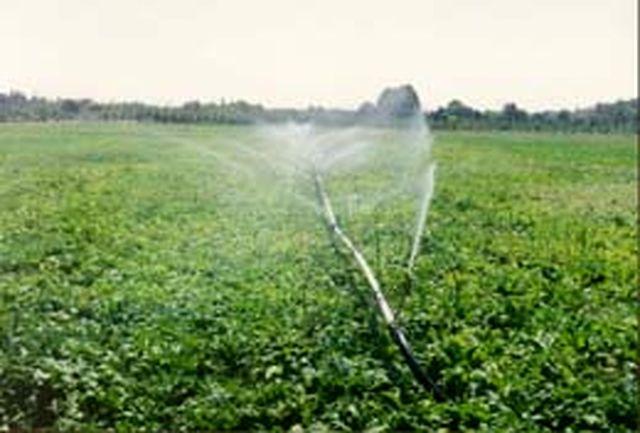 اجرای طرح آبیاری تحت فشار در استان مازندران