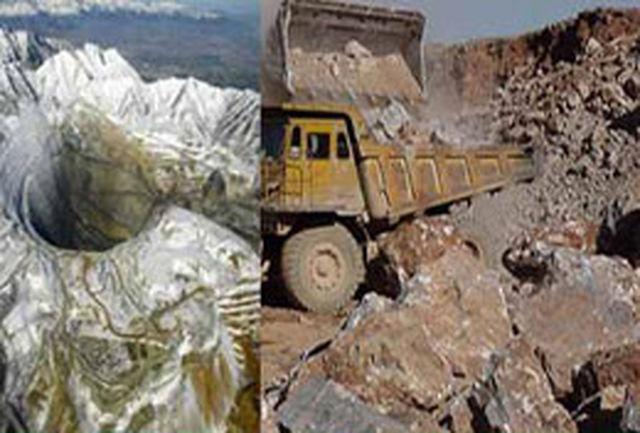 راه و شهرسازی فارس از فعالیت معادن غیر مجاز جلوگیری میکند