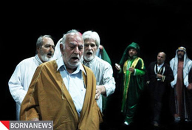 اجرای یک تعزیه قدیمی از تکیه دولت در تئاتر شهر