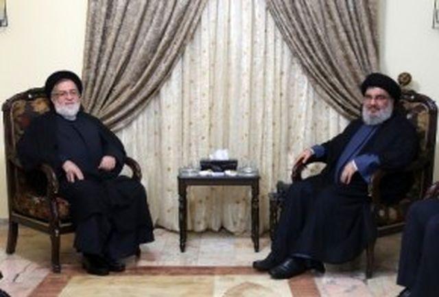 دیدار حجت الاسلام والمسلمین شهیدی با سید حسن نصرالله