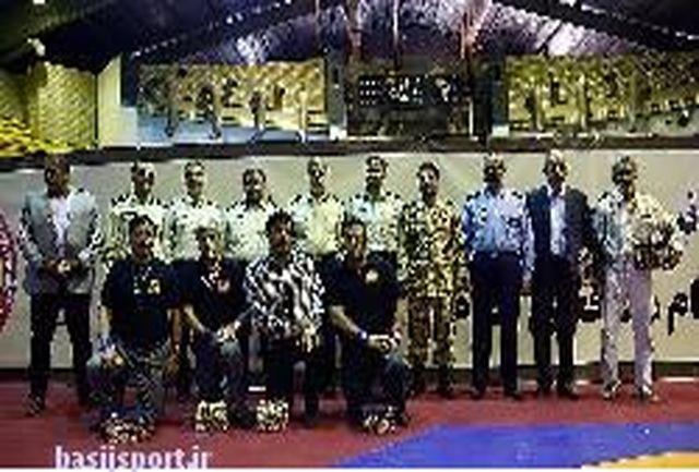اعزام 16 کشتیگیر برتر نیروهای مسلح به المپیک ارتش های جهان