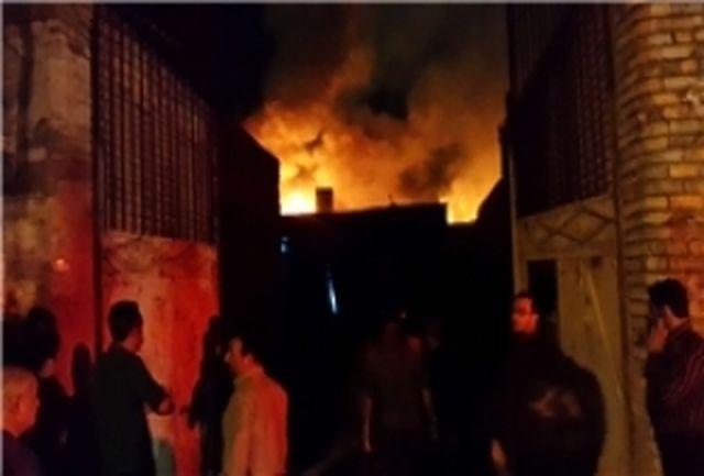 تحقیقات در خصوص علت آتشسوزی گسترده در بازار تهران آغاز شد