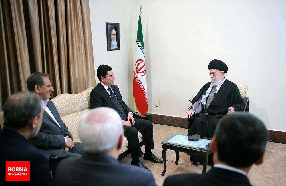 دیدار+رییس+جمهوری+ترکمنستان+با+رهبر+معظم+انقلاب