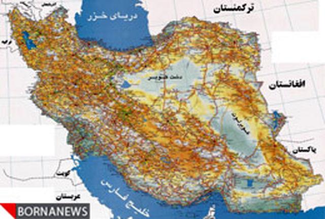یک تغییر در نقشه تقسیمات کشورى استان خراسان جنوبی