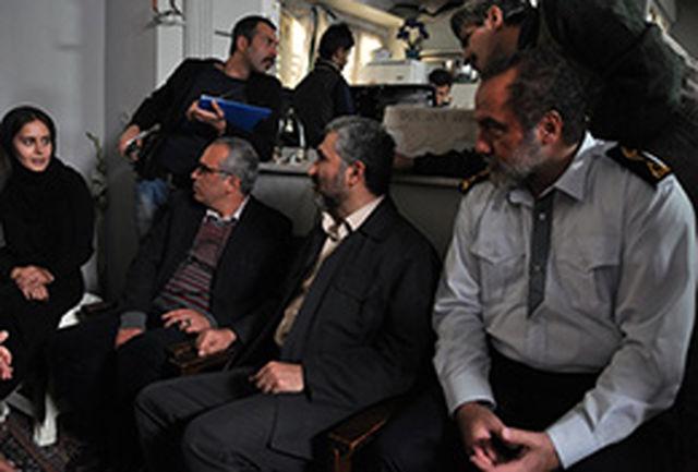 بازدید محمد احسانی از پشت صحنه فیلم لطیفی