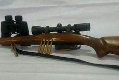 دستگیری شکارچی غیر مجاز قبل از اقدام به شکار در منطقه شکار ممنوع اشکورات رودسر