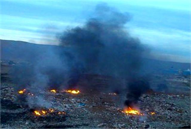 برسی زیست محیطی وضعیت نامطلوب سایت زباله پیرانشهر