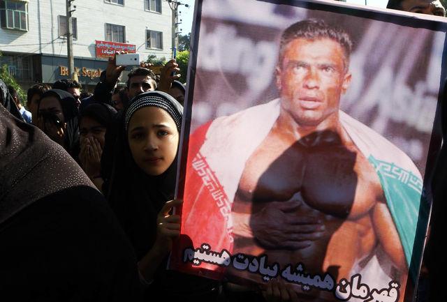 عکس: این مرد بیت الله عباسپور نیست