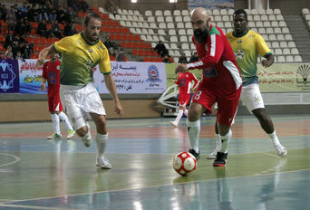 مسابقات فوتبال۷ نفره جام جهانی هنرمندان
