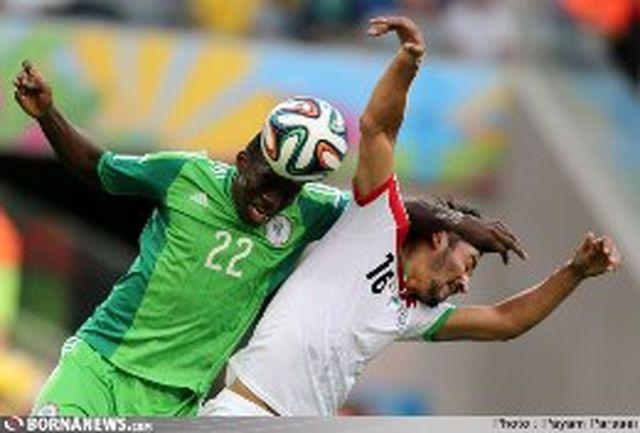 آنالیز فیفا از دیدار تیمهای ایران و نیجریه