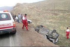 درتصادف آزادراه کرج –قزوین 3 مصدوم به مراکز درمانی منتقل شدند