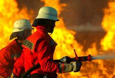 آتش نشانان کرجی در تهران