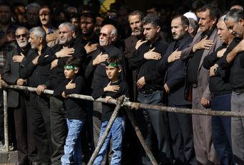 عزاداری مردم قزوین در تاسوعای حسینی