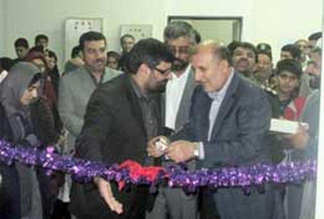 نگارخانه اداره فرهنگ و ارشاد اسلامی شهر ماهدشت افتتاح شد