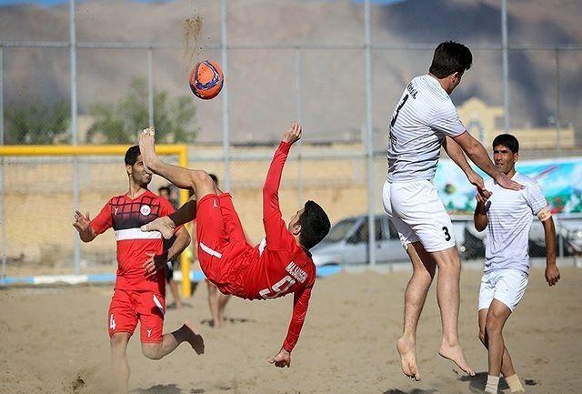 نادری: اوج درخشش تیم ملی فوتبال ساحلی را در جام جهانی خواهیم دید