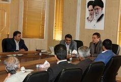 ملاقات رئیس دادگستری شهرستان برخوار با مدیر کل ورزش و جوانان استان