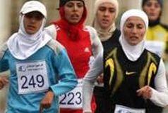 مسابقات دوومیدانی بانوان در تربت جام برگزار شد