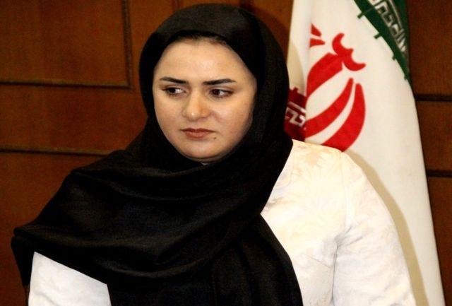 پرچمدار المپیک ایران به کشورش بازگشت