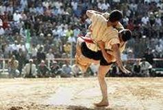 مسابقات کشتی با چوخه در تربت جام برگزار شد