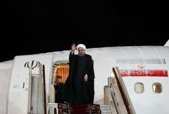 دکتر روحانی نیویورک را به مقصد تهران ترک کرد